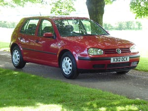 2000 Volkswagen Golf 1.6 SE 50,000 miles FSH 21 x Services SOLD For Sale (picture 9 of 12)