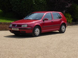 2000 Volkswagen Golf 1.6 SE 50,000 miles FSH 21 x Services SOLD For Sale (picture 12 of 12)