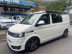 2010 VW TRANSPORTER T5-1 POP TOP CAMPER 4 BERTH ALLOYS For Sale (picture 1 of 11)