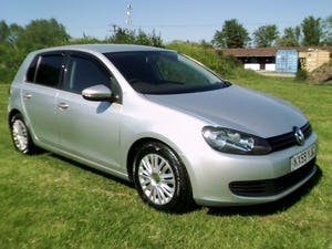 2009 mk6 golf 1.4 s petrol, 5 door, air con, silver metalic, ulez For Sale (picture 1 of 6)