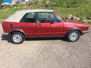 1982 VW Golf Convertible MK1 For Sale (picture 1 of 6)