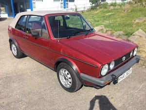 1982 VW Golf Convertible MK1 For Sale (picture 2 of 6)