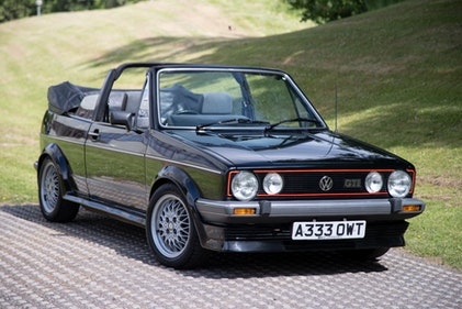 Picture of 1984 Volkswagen Golf GTi Cabriolet For Sale by Auction
