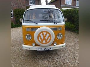 1974 VW T2 campervan. Mot & tax exempt. For Sale (picture 1 of 9)
