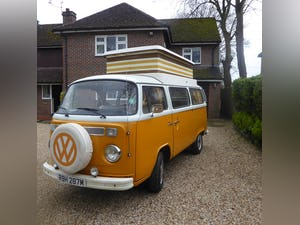 1974 VW T2 campervan. Mot & tax exempt. For Sale (picture 7 of 9)