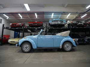 1979 Volkswagen Beetle Convertible with 94 original miles! For Sale (picture 2 of 12)