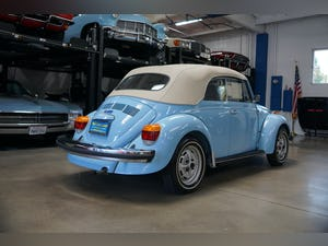 1979 Volkswagen Beetle Convertible with 94 original miles! For Sale (picture 7 of 12)