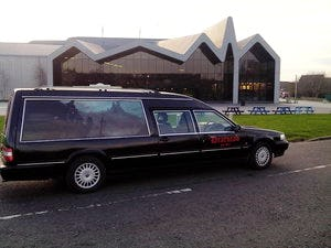 1998 Volvo 960 Hearse Limo For Sale (picture 1 of 6)