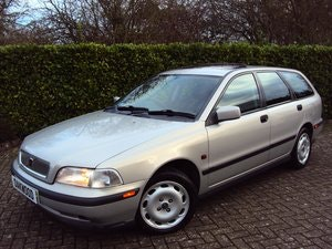 Picture of 1997 A Wonderful Low Mileage Volvo V40 2.0 Petrol Estate NOW SOLD For Sale