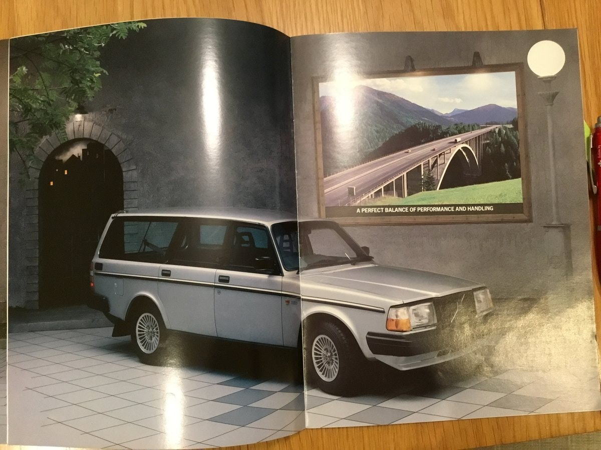 1984 Volvo 240 range brochures For Sale (picture 2 of 2)