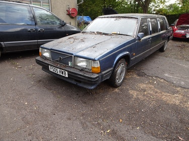 Picture of 1989 volvo limousine NOT 6 DOORS extremely  rare For Sale