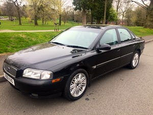 2001 Volvo S80 T6 SE 2.8 twin turbo 268BHP Mot 2022 99k miles For Sale (picture 1 of 12)