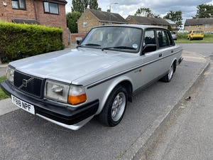 1988 Volvo 240 glt 12 months mot For Sale (picture 1 of 7)