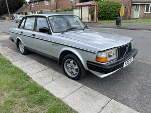 1988 Volvo 240 glt 12 months mot For Sale (picture 2 of 7)