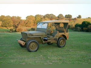 1943 WILLYS MB RESTORED 6 VOLT For Sale (picture 1 of 6)