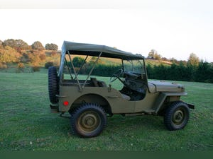 1943 WILLYS MB RESTORED 6 VOLT For Sale (picture 2 of 6)