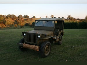 1943 WILLYS MB RESTORED 6 VOLT For Sale (picture 1 of 8)