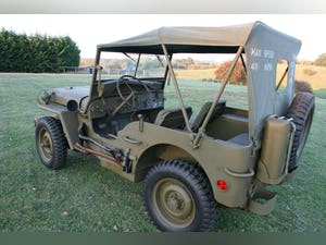 1943 WILLYS MB RESTORED 6 VOLT For Sale (picture 4 of 8)