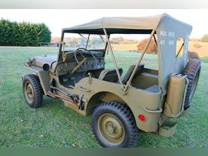 1943 WILLYS MB RESTORED 6 VOLT For Sale (picture 6 of 6)