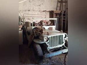 1943 willys jeep hotchkiss ford wanted for sale For Sale (picture 1 of 10)