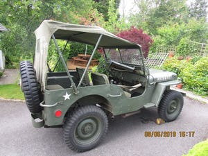1943 willys jeep hotchkiss ford wanted for sale For Sale (picture 7 of 10)