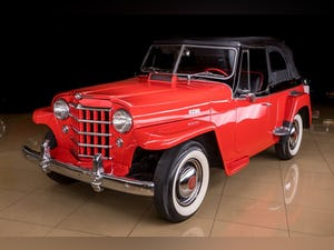 1950 Willys Jeepster Convertible Restored Rare 6-cyls $34.9k For Sale (picture 1 of 11)