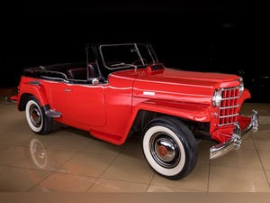 1950 Willys Jeepster Convertible Restored Rare 6-cyls $34.9k For Sale (picture 7 of 11)