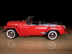 1950 Willys Jeepster Convertible Restored Rare 6-cyls $34.9k For Sale (picture 11 of 11)