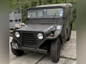 1966 A FORD M151 (WILLYS) 1/4 TON 2.2 LIGHT 4X4 UTILITY JEEP For Sale by Auction (picture 1 of 12)