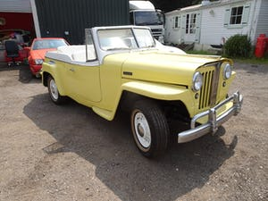 1949 very rare willys convertible , recent restoration For Sale (picture 1 of 11)