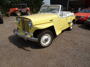 1949 very rare willys convertible , recent restoration For Sale (picture 2 of 11)
