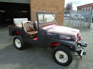 WILLYS JEEP CJ-5 F134 JEEP (1955) US IMPORT SOLID PROJECT! For Sale (picture 1 of 12)