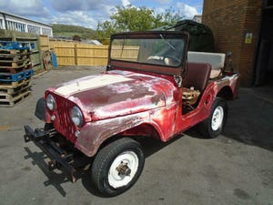 WILLYS JEEP CJ-5 F134 JEEP (1955) US IMPORT SOLID PROJECT! For Sale (picture 2 of 12)