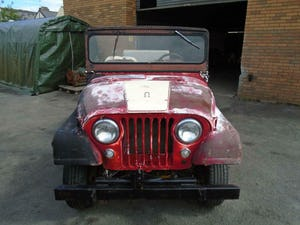 WILLYS JEEP CJ-5 F134 JEEP (1955) US IMPORT SOLID PROJECT! For Sale (picture 6 of 12)