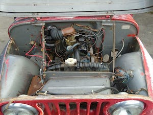 WILLYS JEEP CJ-5 F134 JEEP (1955) US IMPORT SOLID PROJECT! For Sale (picture 7 of 12)