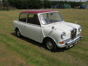 Picture of 1967 WOLSELEY HORNET. SNOWBERRY WHITE/DAMASK 1 OWNER 47K  SOLD