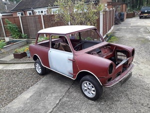Picture of 1966 Wolseley Hornet Mk2 rolling shell SOLD