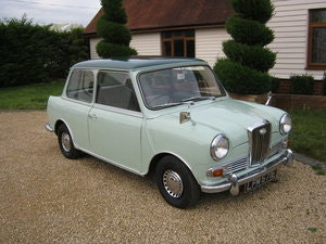 Picture of 1967 WOLSELEY HORNET Mk3. PORCELAIN GREEN. 67,000 MILES SOLD