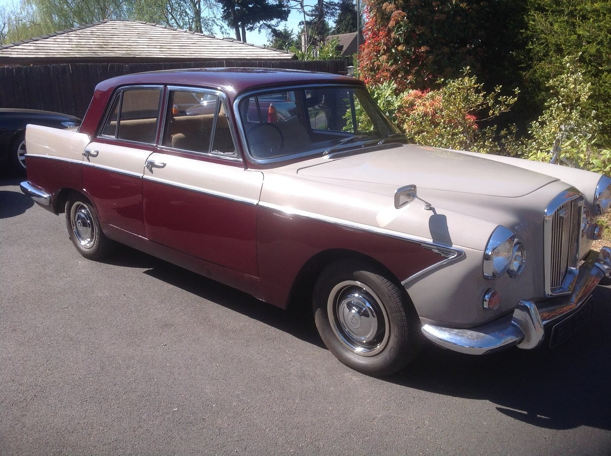 1964 Wolseley 6/110 Auto For Sale (picture 1 of 12)