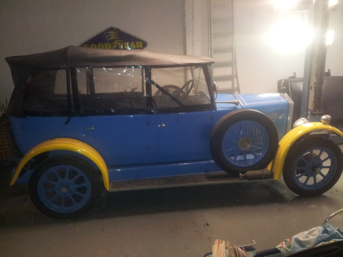 1927 Wolseley tourer convertible 15-45 original For Sale (picture 1 of 8)