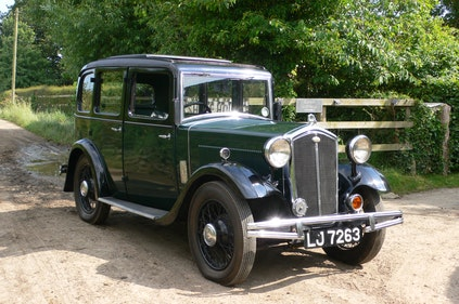 Picture of 1933 Wolseley Hornet Six Light Saloon For Sale by Auction