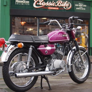 Picture of 1971 Yamaha CS3 200 Electric Two Stroke Twin 70's Classic. SOLD