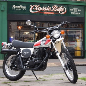 Picture of 1976 Yamaha XT500 C Enduro, Rare Early Exhaust Model, SOLD. SOLD