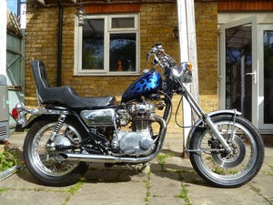 1976 YAMAHA XS650 CUSTOM CHOPPER For Sale (picture 1 of 10)