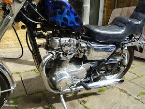 1976 YAMAHA XS650 CUSTOM CHOPPER For Sale (picture 4 of 10)