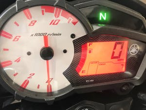 2019 YAMAHA YS125 MOTORBIKE EURO4 - 7miles only from new For Sale (picture 14 of 16)