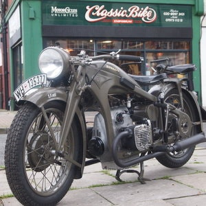 Picture of 1936 Zundapp K500 Wehrmacht WW11, Fully Restored, Beautiful. For Sale