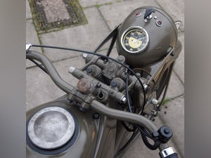 1936 Zundapp K500 Wehrmacht WW11, Fully Restored, Beautiful. For Sale (picture 3 of 6)