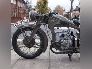 1936 Zundapp K500 Wehrmacht WW11, Fully Restored, Beautiful. For Sale (picture 4 of 6)