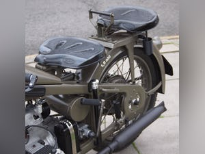 1936 Zundapp K500 Wehrmacht WW11, Fully Restored, Beautiful. For Sale (picture 6 of 6)
